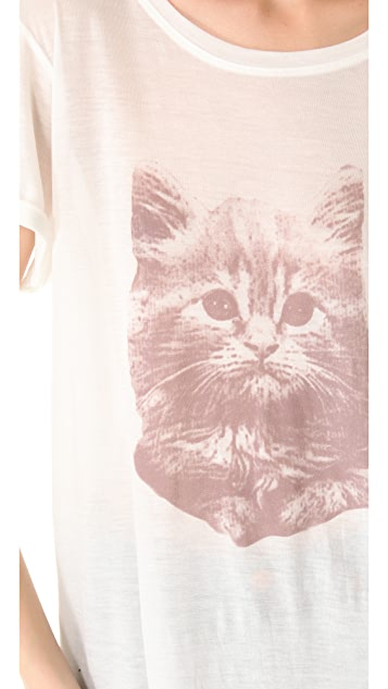 A Fine Line Hastings Kitten Tee