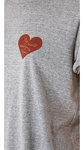 A Fine Line Hastings Heart Tee