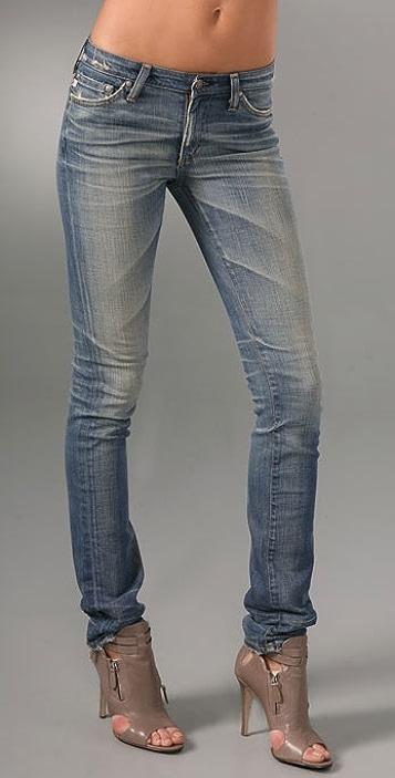 AG Premiere Straight Skinny Jeans