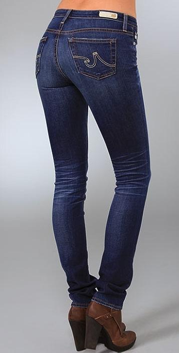 AG Premiere Skinny Straight Jeans