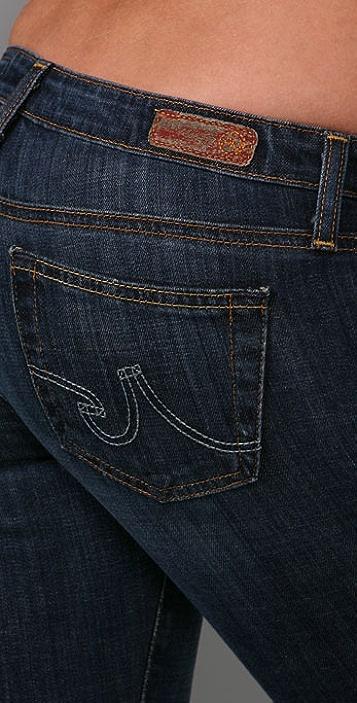 AG Lightweight Angelina Petite Boot Cut Jeans