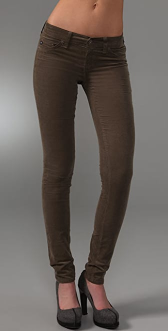AG Super Skinny Corduroy Jeggings