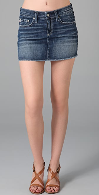 AG The Jean Mini Skirt | SHOPBOP
