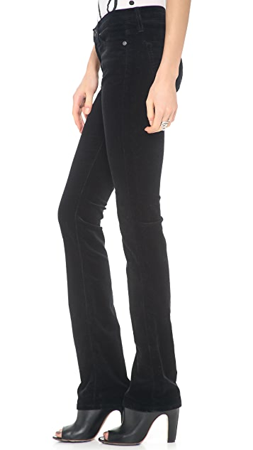 AG The Ballad Slim Boot Cut Corduroy Pants
