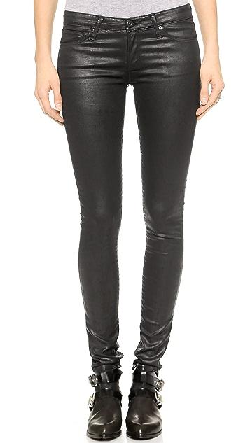 AG The Leatherette Legging Jeans
