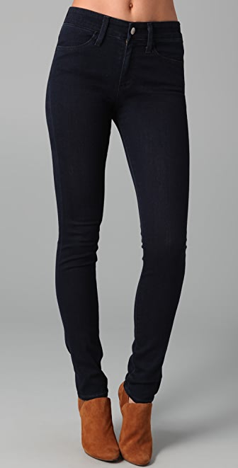 AG High Rise Skinny Jeans