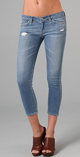 AG The Stilt Cropped Cigarette Jeans