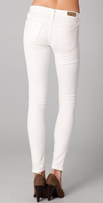 AG The Super Skinny Velvet Leggings
