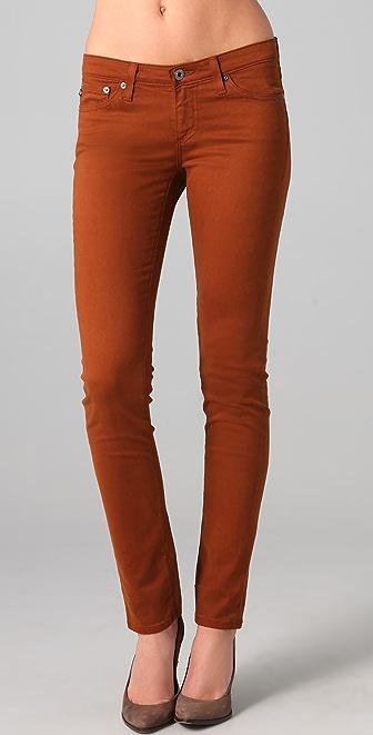 AG Stilt Sateen Cigarette Jeans