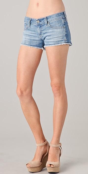AG Daisy Super Low Rise Denim Shorts