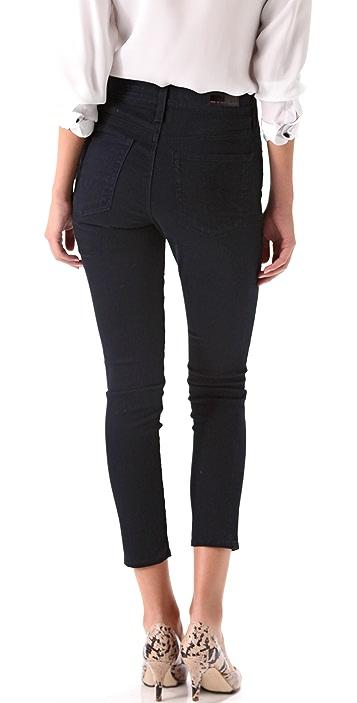 AG Farrah Cropped High Rise Skinny Pants