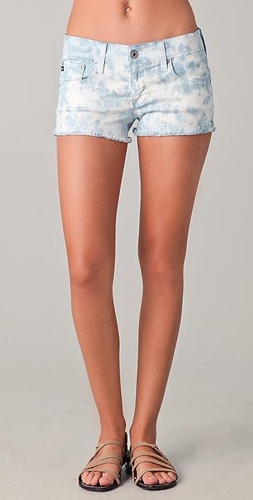 AG Daisy Tie Dye Shorts
