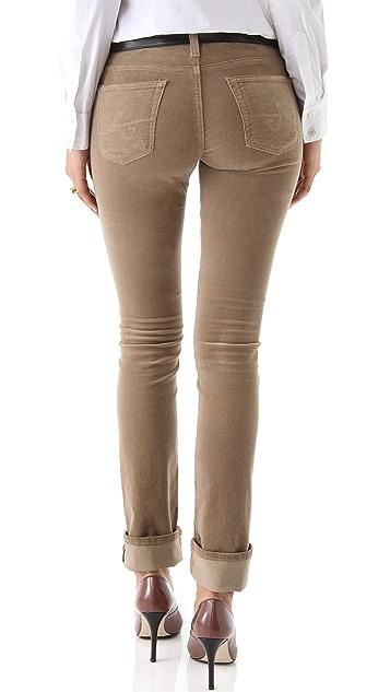 AG Ballad Slim Boot Cut Corduroy Pants