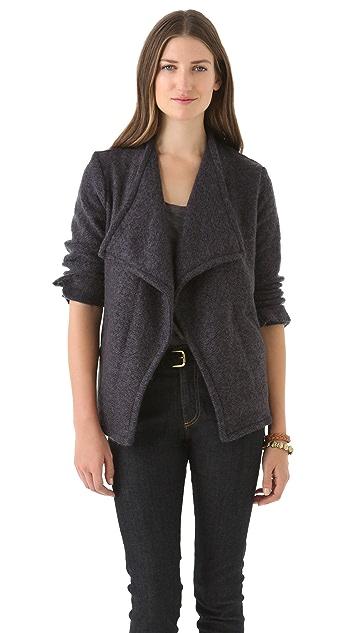AG Long Sleeve Drape Jacket