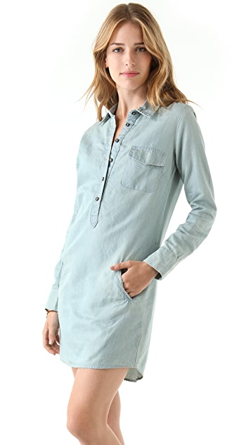 AG Chambray Shirtdress
