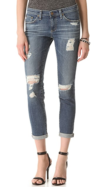 AG Stilt Roll Up Jeans