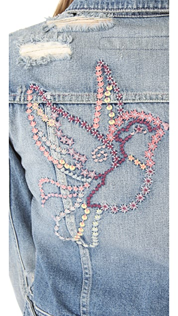 AG Cher Coulter for AG '50s Denim Jacket
