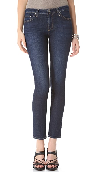 AG The Prima Mid Rise Cigarette Jeans