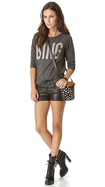 AG The Cocktail Mid Rise Shorts