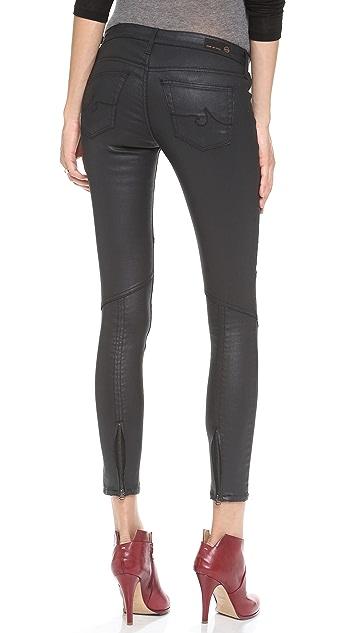 AG The Moto Zipper Legging Jeans