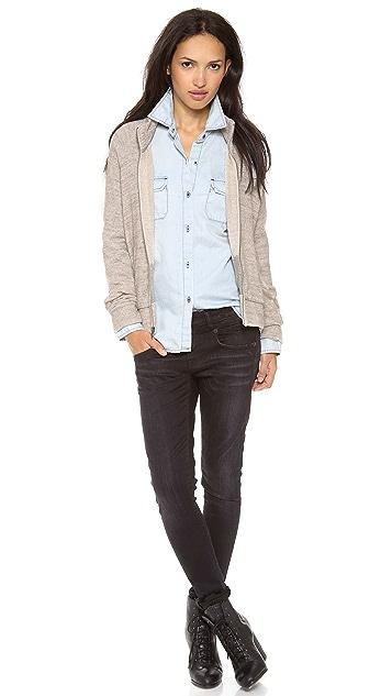 AG Zip Front Jacket