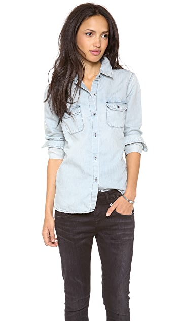 AG Lightweight Denim Shirt
