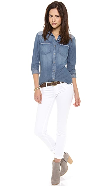 AG Denim Chambray Shirt