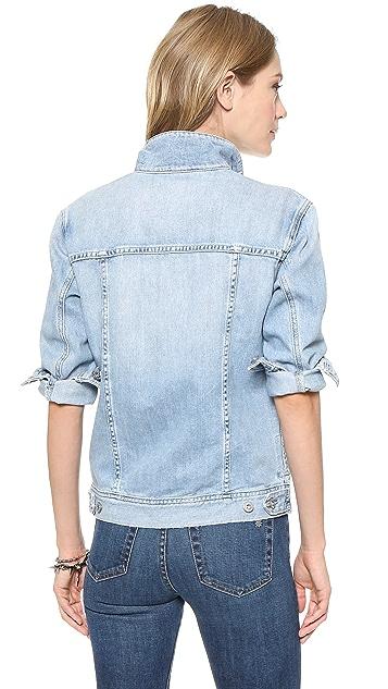 AG Nancy Oversized Denim Jacket