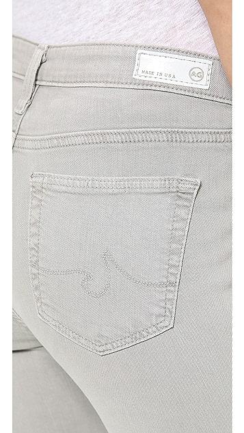 AG The Prima Mid Rise Cigarette Jeans