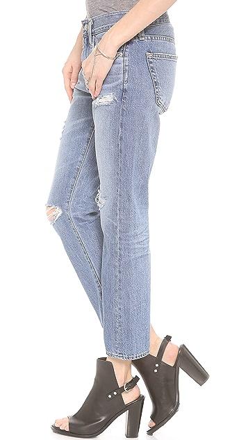 AG The Drew Straight Leg Boyfriend Jeans