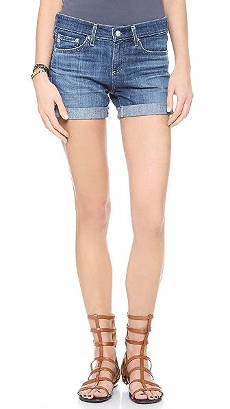 AG Hailey Ex Boyfriend Cuffed Shorts