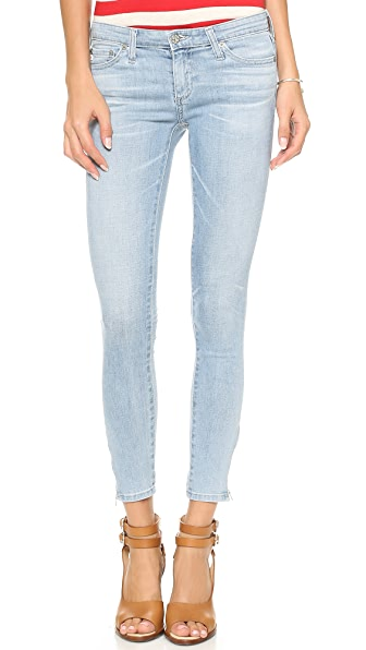 AG Zip Ankle Legging Jeans