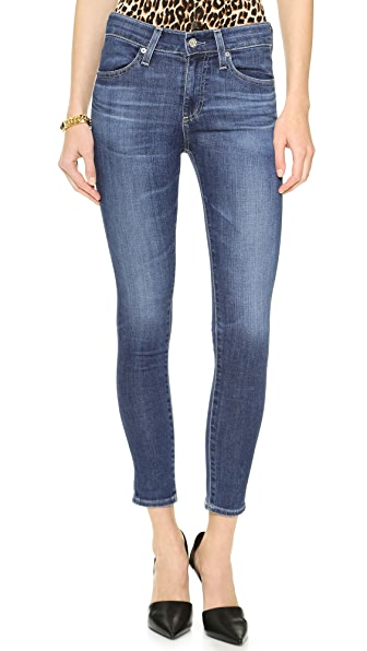 AG The Farrah High Rise Skinny Crop Jeans | SHOPBOP