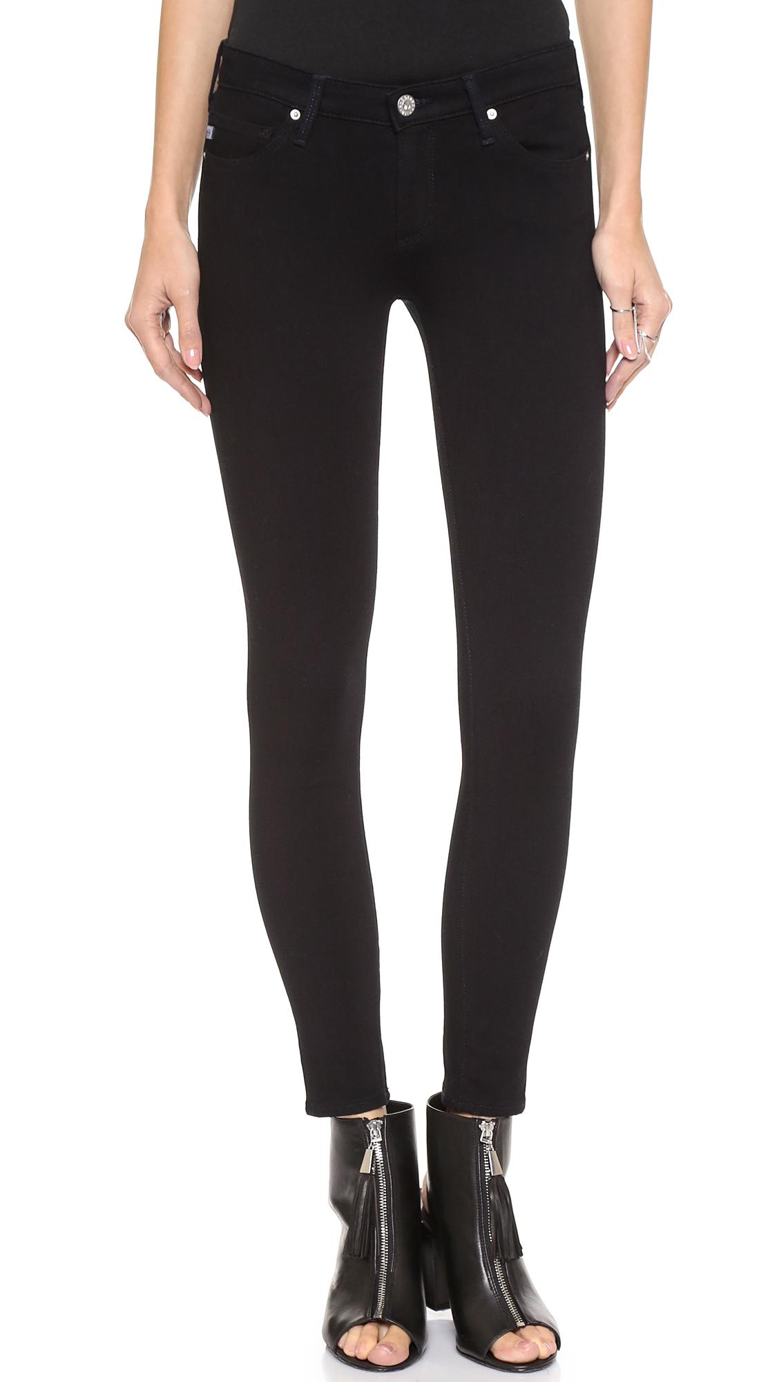 Ag Contour 360 Ankle Super Skinny Jeans - Hideout at Shopbop