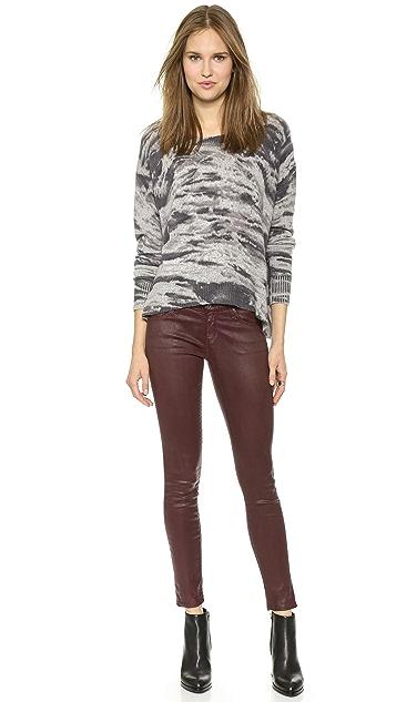 AG The Legging Ankle Super Skinny Leatherette Jeans