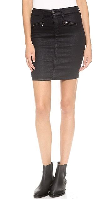 AG The Kodie Biker Pencil Skirt