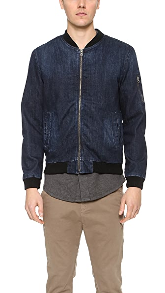 AG Denim Bomber Jacket