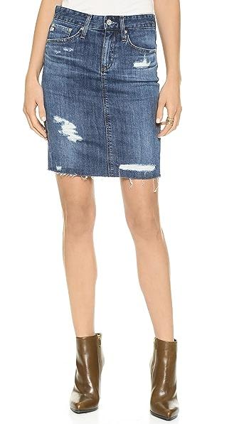 AG Erin Pencil Skirt