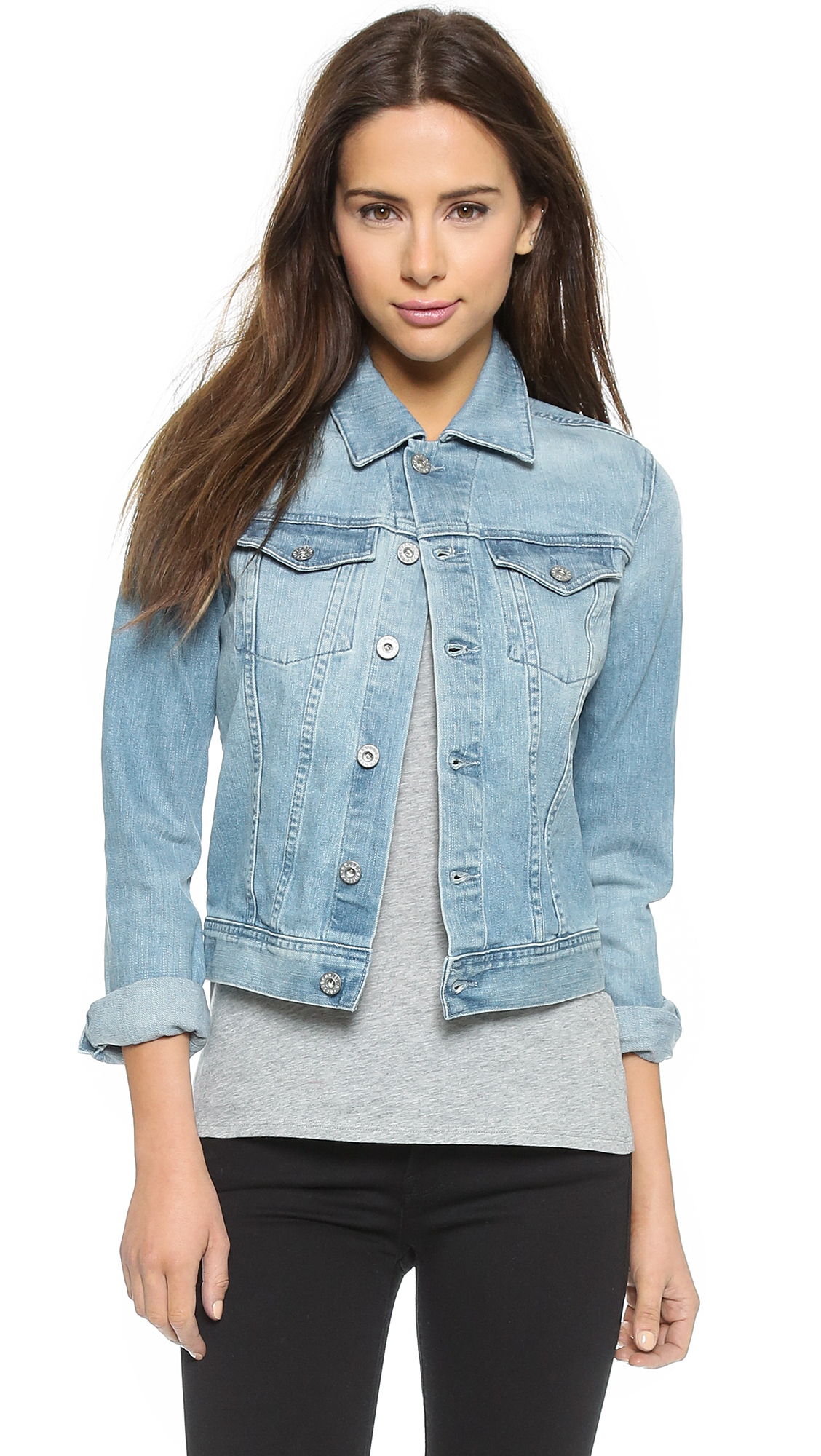 Ag Robyn Jacket - Sea Glass at Shopbop