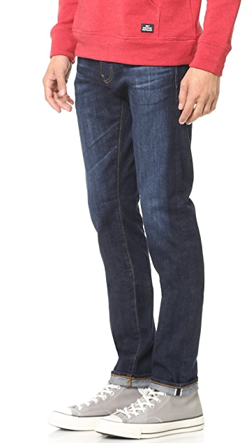 AG The Dylan Slim Skinny Stretch Selvedge Jeans