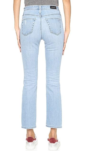 AG Alexa Chung x AG Sabine High Waisted Straight Leg Jeans