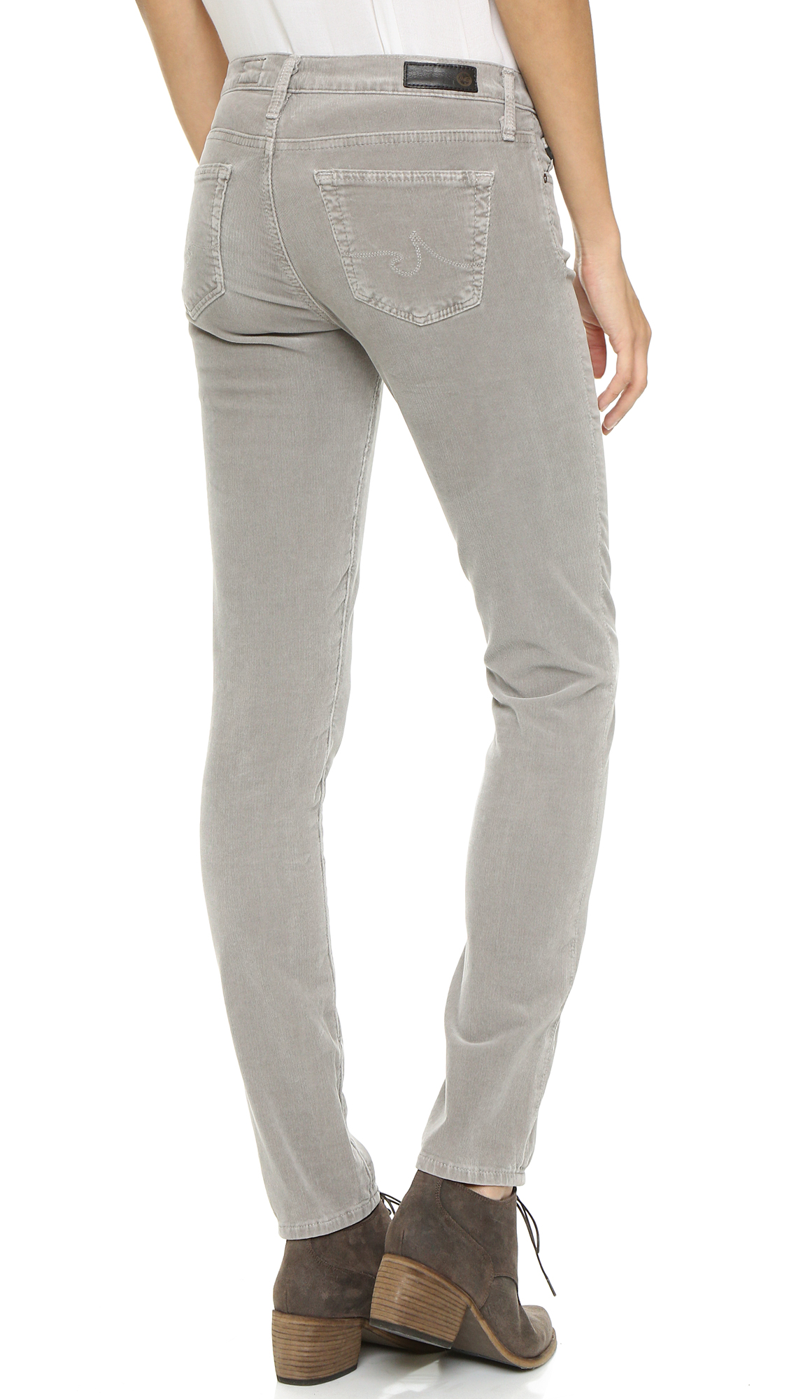 AG The Stilt Cigarette Corduroy Pants | SHOPBOP