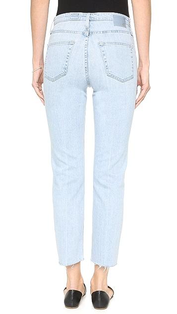 AG The Phoebe Vintage High Waist Jeans