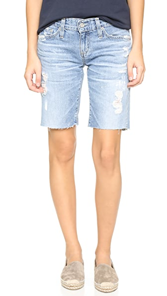 Ag The Nikki Relaxed Skinny Shorts - 22 Years Impressionist at Shopbop