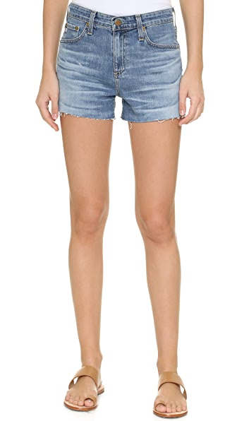Ag The Sadie High Rise Shorts - 13 Years-Abyss Blue at Shopbop