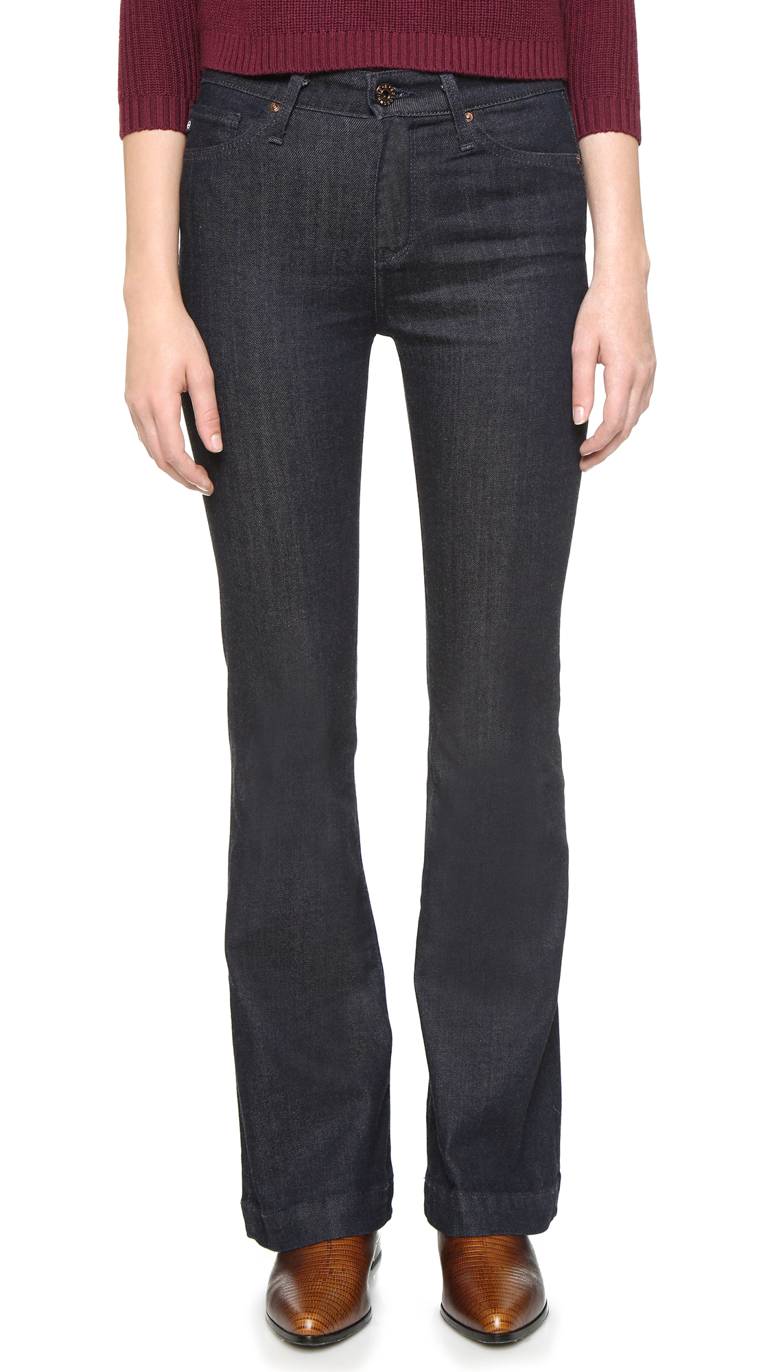 AG Petite Janis Flare Jeans | 15% off first app purchase with code ...