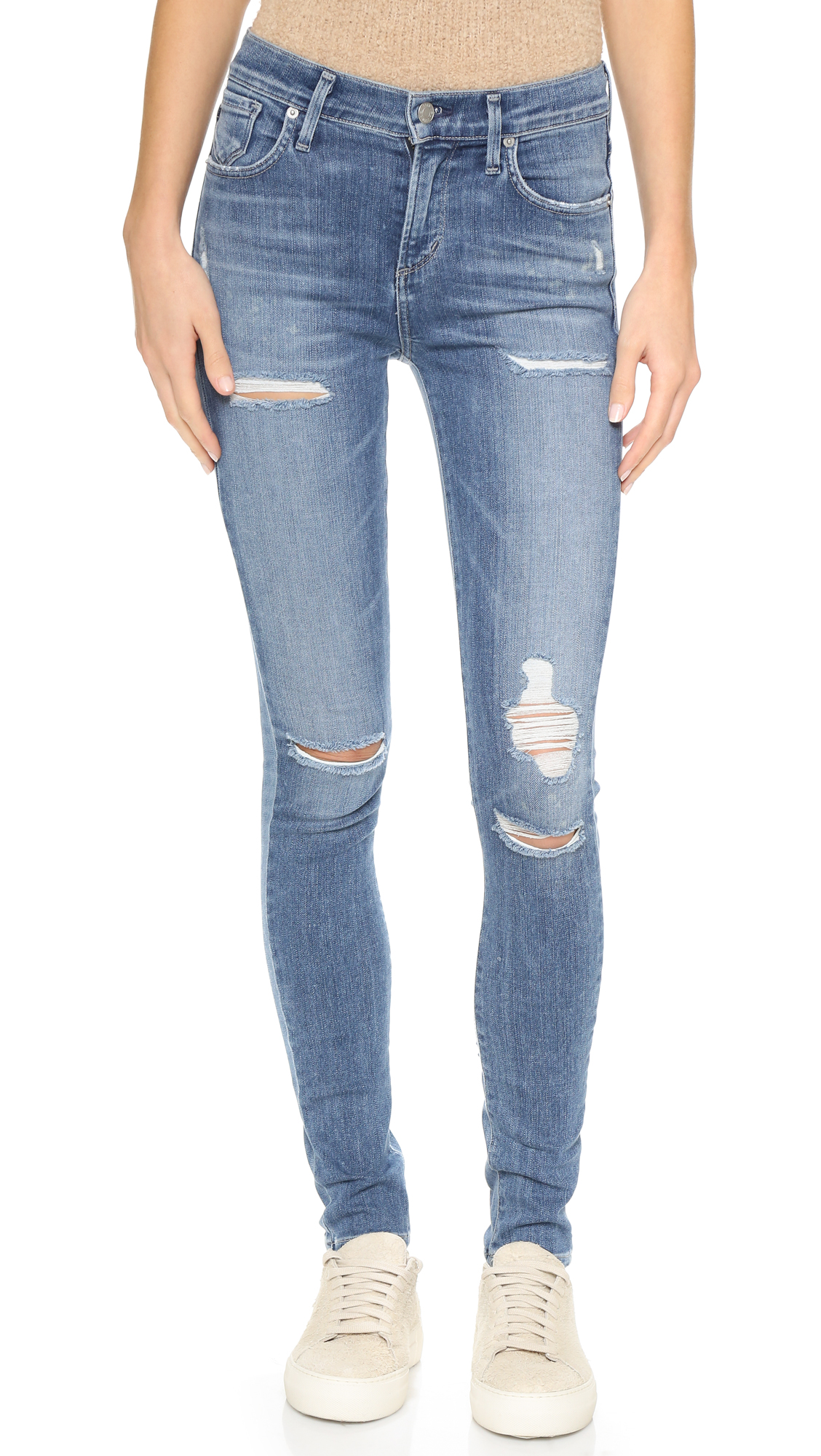 Agolde Sophie Skinny Jeans - Cannes at Shopbop