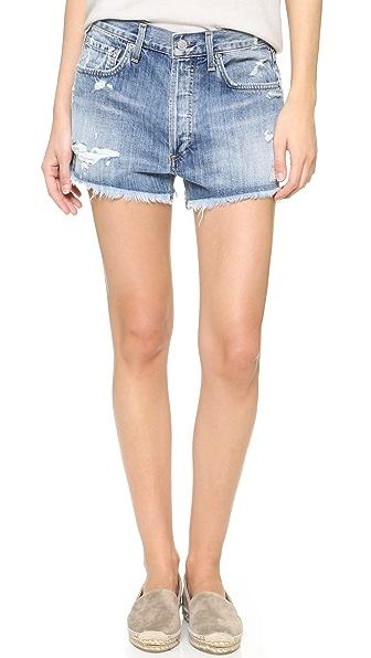 Agolde Parker Vintage Loose Cutoff Shorts - Springfield at Shopbop