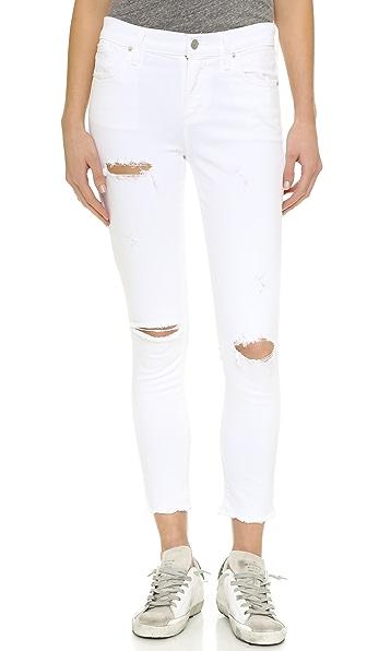 Agolde Sophie High Rise Skinny Crop Jeans - Offspring at Shopbop