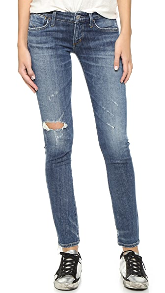 AGOLDE Chloe Low Rise Slim Jeans at Shopbop